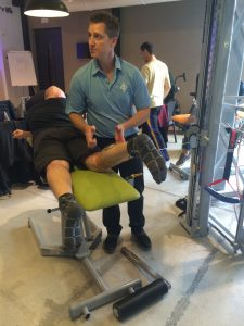Jim Rivard Teaching STEP2 in Italy